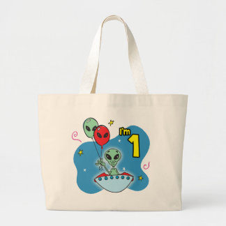 UFO Alien 1st Birthday Bag
