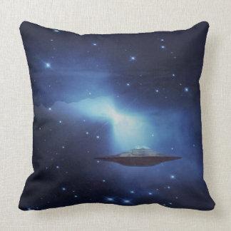 UFO alien galaxies space Pillow