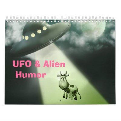 UFO & Alien Humor Calendar $ 23.60
