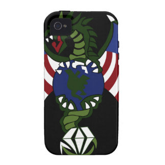 UFO ALIEN HUNTERS SPECIAL FORCES PATCH iPhone 4/4S CASE