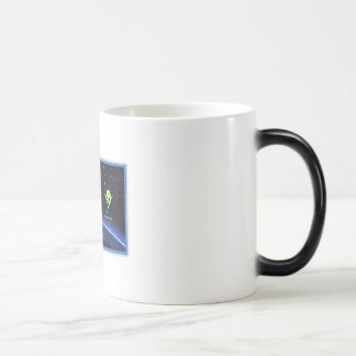 UFO Alien Intergalactic Map Mug - You Are Here.. .