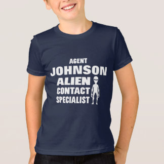 Ufo Alien Investigator Personalized T-Shirt