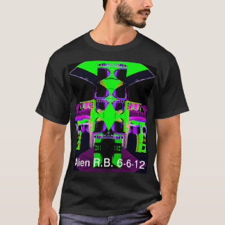 UFO Alien Scifi Robot Tshirt CricketDiane Designs