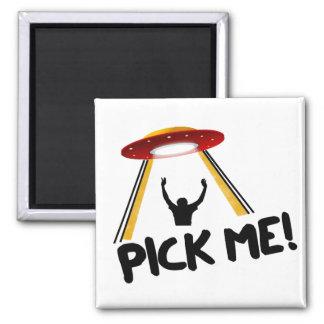 UFO Alien Ship - Pick Me! Magnets