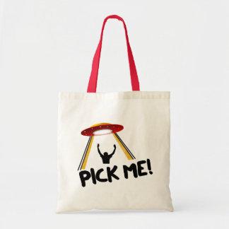 UFO Alien Ship - Pick Me! Tote Bag