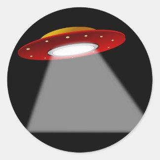 UFO - Alien Spaceship Stickers