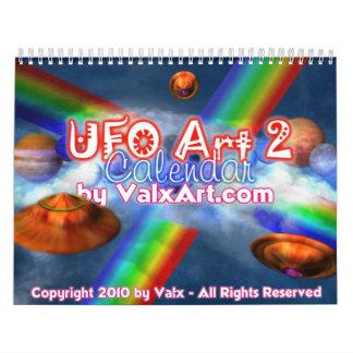 UFO - alien worlds Valxart calendar