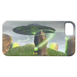 UFO and Ancient Stone Circle iPhone SE/5/5s Case