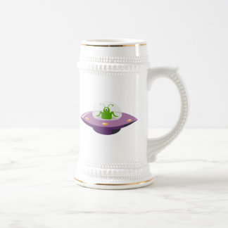 UFO and Space Alien Beer Stein