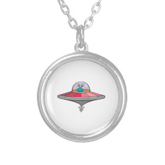 UFO and Space Alien Necklaces