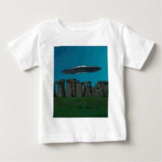 UFO At Stone Henge Baby T-Shirt