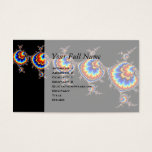 Ufo Attack - Fractal Art Business Card