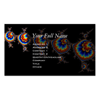 Ufo Attack - Fractal Art Double-Sided Standard Business Cards (Pack Of 100)