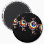 Ufo Attack - Fractal Art Magnet