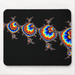Ufo Attack - Fractal Art Mouse Pad