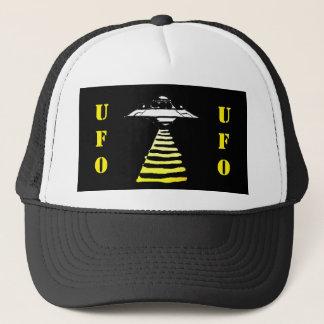 UFO - Black & White Yellow Trucker Hat