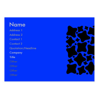 UFO - Blue Sky - Chubby Large Business Cards (Pack Of 100)