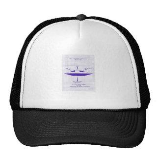 UFO Blueprint Trucker Hat