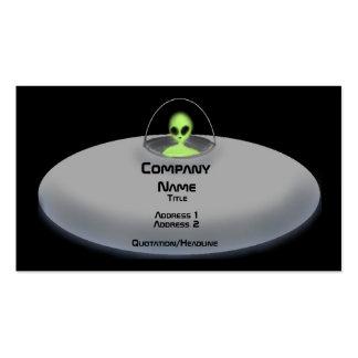 UFO business card