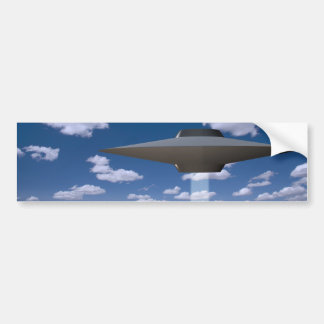 UFO ETIQUETA DE PARACHOQUE