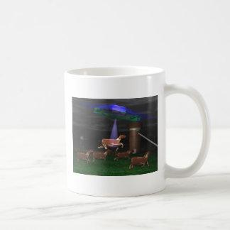UFO Cattle abduction Classic White Coffee Mug