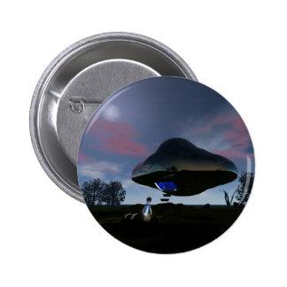 UFO Cattle Mutilation Button