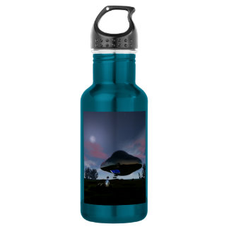 UFO Cattle Mutilation 18oz Water Bottle