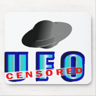 UFO Censored Mouse Pad