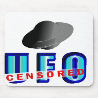 UFO censurado Alfombrillas De Raton