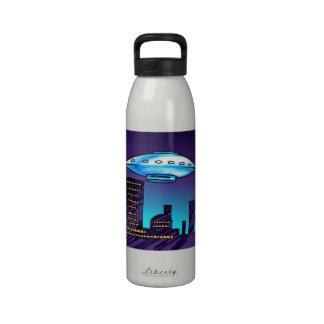 UFO City Drinking Bottles