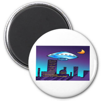 UFO City Magnet
