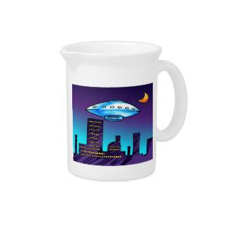 UFO City Drink Pitcher