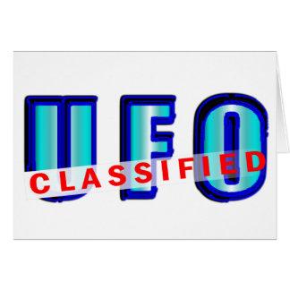UFO Classified Card