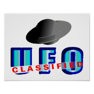 UFO Classified Poster