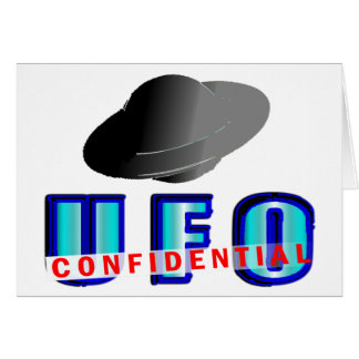 UFO Confidential Card