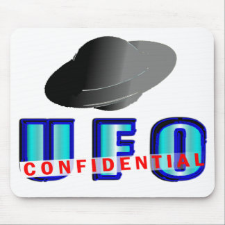UFO Confidential Mouse Pad