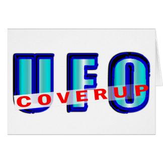 UFO Coverup Card