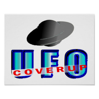 UFO Coverup Poster