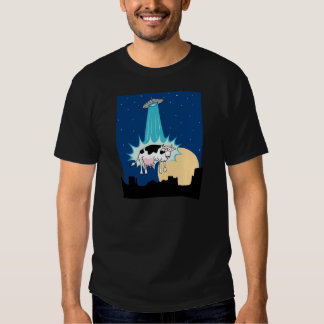UFO Cow Abduction Shirt