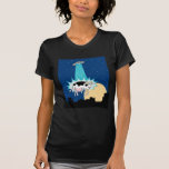 UFO Cow Abduction T Shirt