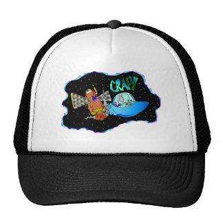 UFO Crash!! Mesh Hats