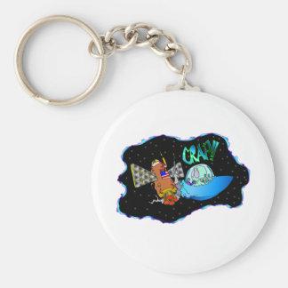 UFO Crash!! Keychain