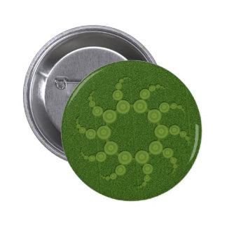 UFO Crop Circles 2 Inch Round Button