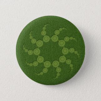 UFO Crop Circles Pinback Button