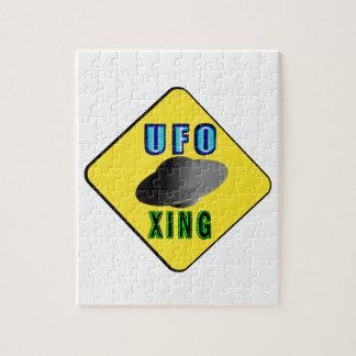 UFO Crossing Jigsaw Puzzle