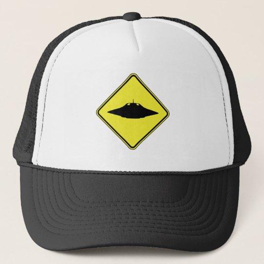UFO Crossing Trucker Hat