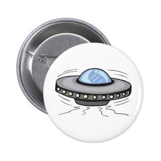 UFO!  Customizable! Button