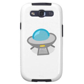 UFO del dibujo animado Samsung Galaxy S3 Protectores