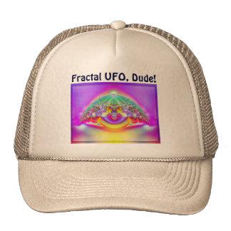 ¡UFO del fractal, tipo!  Gorra