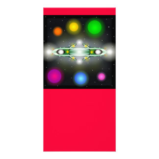 UFO Designed Book Mark Card